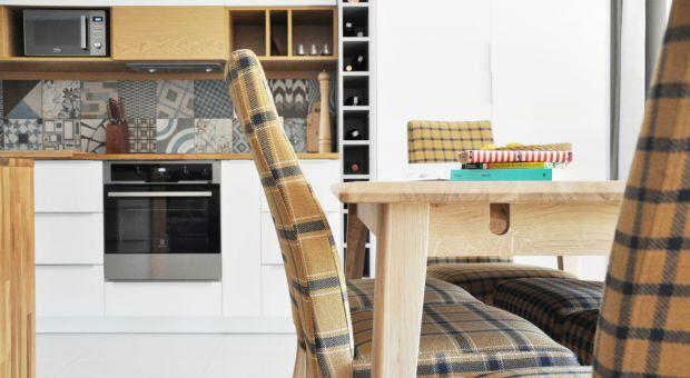 Mieszkanie na Bemowie - ciekawa koncepcja