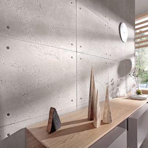 Płyty z betonu architektonicznego to doskonała propozycja dla miłośników nowoczesnego, industrialnego stylu. Fot. Elkamino Dom