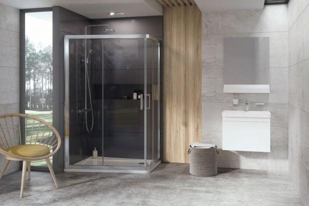 Nowość do łazienki - obrócona kabina prysznicowa