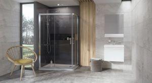 Ta nowość do łazienki, to pierwsza asymetryczna kabina prysznicowa na rynku, która jest oparta na podstawowym planie prostokąta.