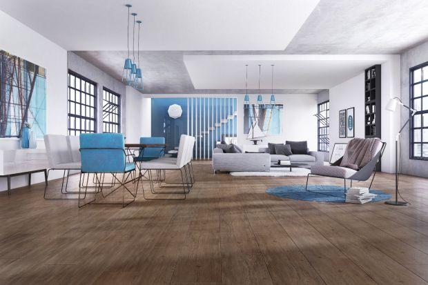 Modny salon - wybierz gresy z motywem drewna