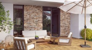 Estetyczna, ciekawa wzorniczo elewacja to swoista wizytówka domu, która dba o integralność i oryginalny wymiar projektu całego budynku.