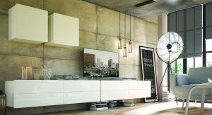 Meble wiszące na ścianie podkreślają nowoczesny charakter wnętrza, wyglądają dobrze w każdym pomieszczeniu, szczególnie jeśli jest ono stosunkowo wysokie. Stosując podwieszane meble, równoważymy wysokość ścian, dzięki czemu całość wygl