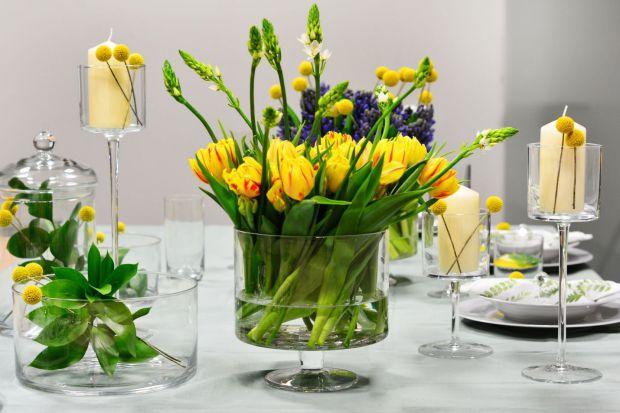Wiosenny salon - tak go ozdobisz kwiatami