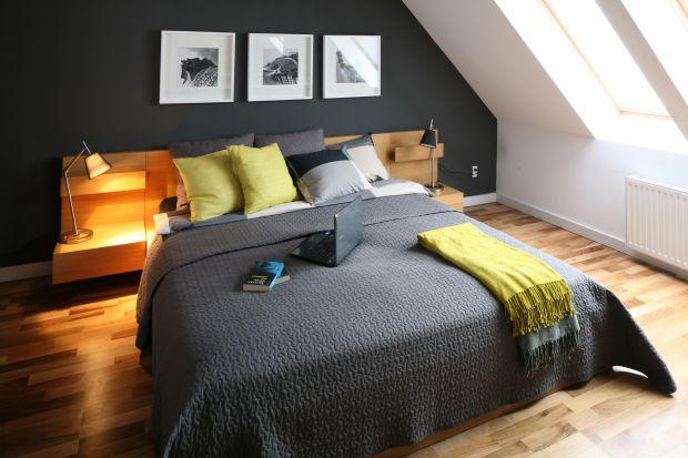 Przytulna sypialnia - sposób na chłodne, wiosenne wieczory