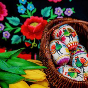 Wielkanocny stół. Fot. Galeria Folk