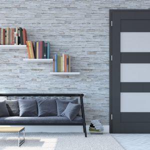 Drzwi wewnętrzene z kolekcji Arco. Fot. POL-SKONE