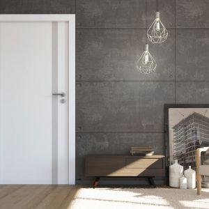 Drzwi wewnętrzne z kolekcji Estato. Fot. POL-SKONE