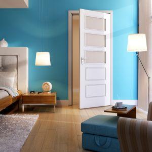 Drzwi wewnętrzne z kolekcji Graf. Fot. POL-SKONE