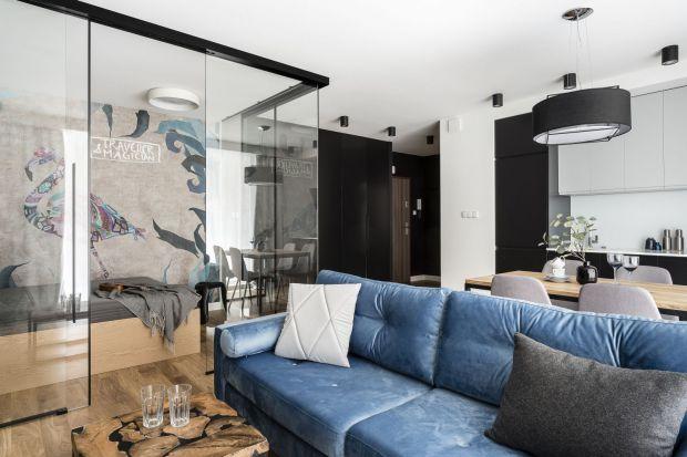 Małe mieszkanie z dodatkową sypialnią - zobacz wyjątkowy projekt