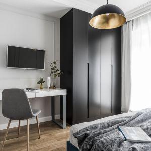Małe mieszkanie w nowoczesnym stylu. Projekt: Anna Maria Sokołowska. Fot. Foto&Mohito