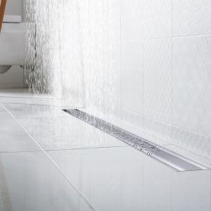 Delikatnie zaokrąglone kontury odpływów z serii Viega Advantix doskonale wpisują się w najnowsze trendy łazienkowe.  Fot. Viega
