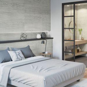 Pomysł na ścianę: modne drewno. Fot. VOX