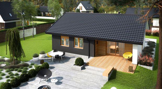 Mały dom: zobacz jak zaprojektowano 80 metrów