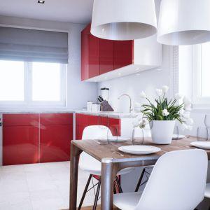 Jasne barwy dodatkowo optycznie powiększają wnętrze. Dom Mini 3. Fot. Pracownia Projektowa Archipelag