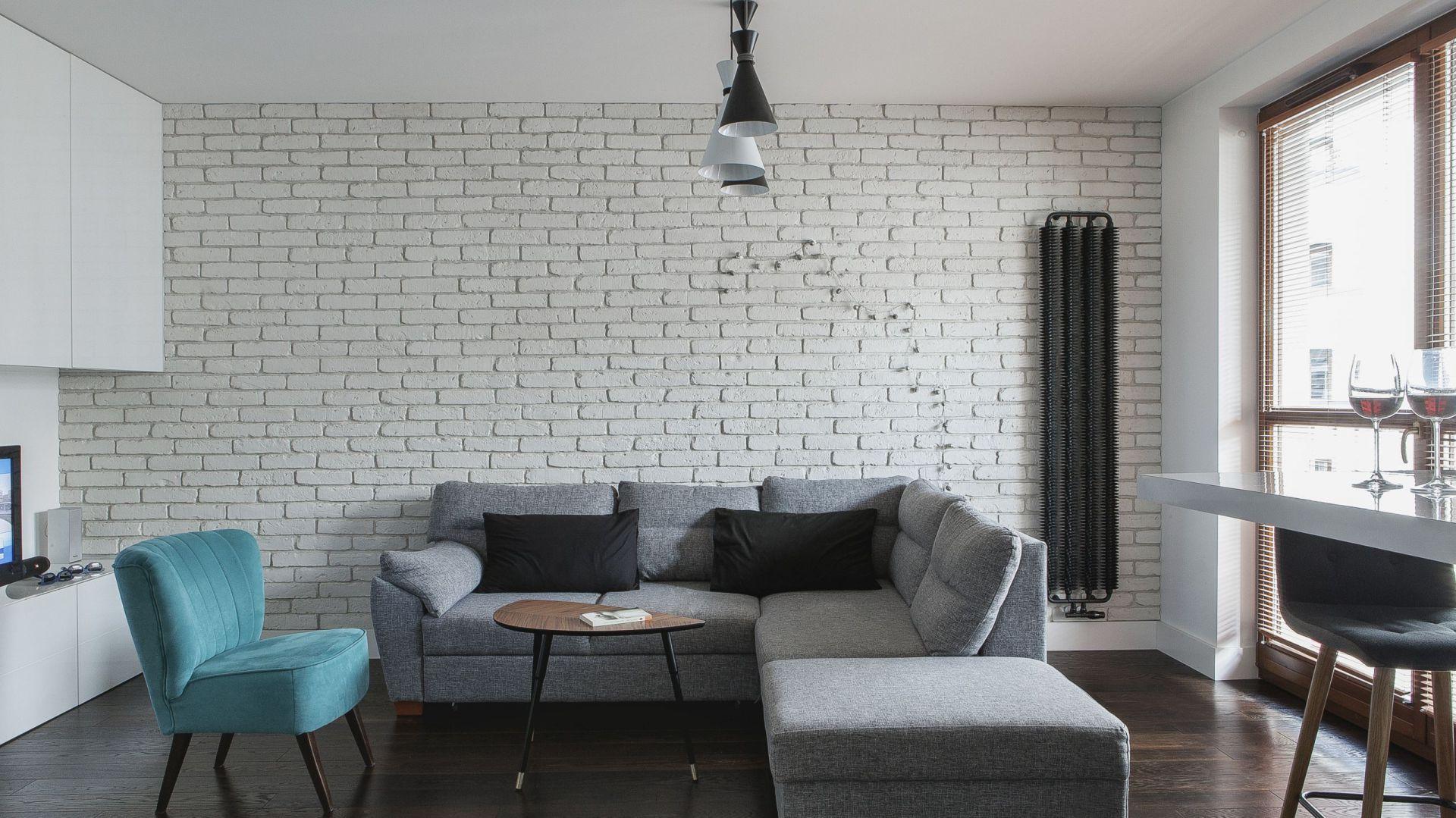 Mały salon. Projekt: MAFGroup. Fot. Emi Karpowicz