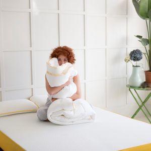 Nowa kołdra eve  wykonana została w 70 proc. z ultralekkiej mikro-fibry. Fot. eve Sleep