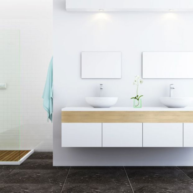 Zabudowa łazienki - materiały odporne na wilgoć
