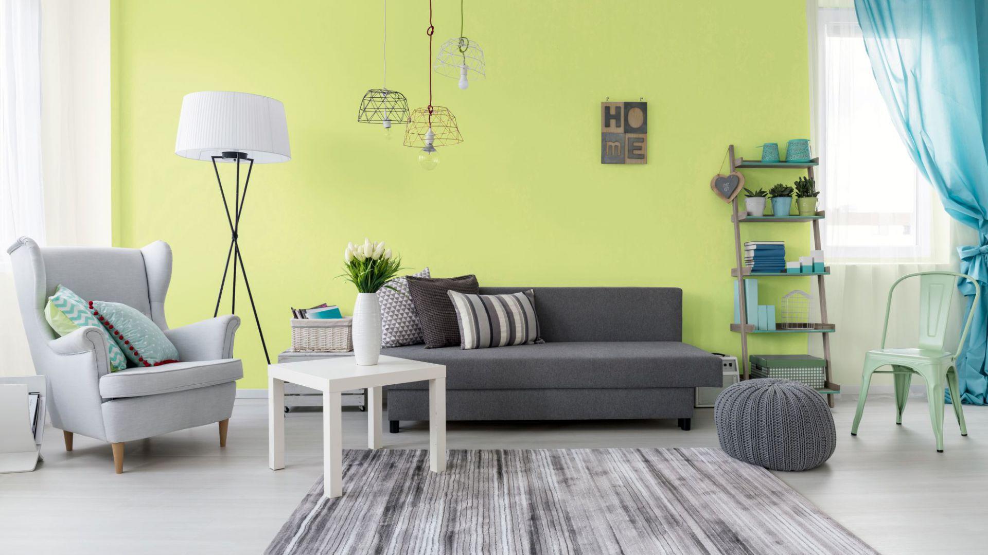 Malujemy mieszkanie: wiosenne aranżacje wnętrza. Fot. Jedynka