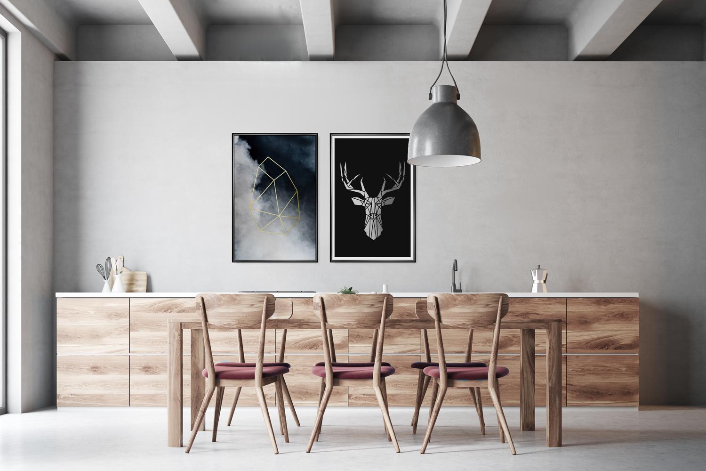 Wnętrze W Stylu Skandynawskim Zobacz świetne Plakaty Do