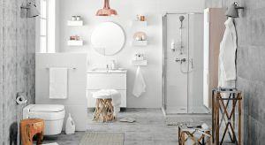 Biel, delikatne beże, écru i szarości są zawsze na czasie. Gdy zapragniemy odmiany, staną się kanwą, na której będziemy mogli budować coraz to nowe aranżacje łazienki.