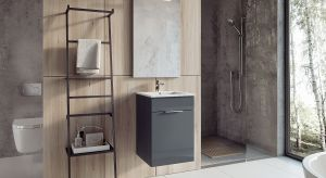 Dobrze zaplanowana, optymalnie wykorzystana i uporządkowana przestrzeń łazienki będzie funkcjonalna pomimo niewielkiego metrażu. Nowoczesne meble pomogą zorganizować wnętrze i zapewnią miejsce do przechowywania.