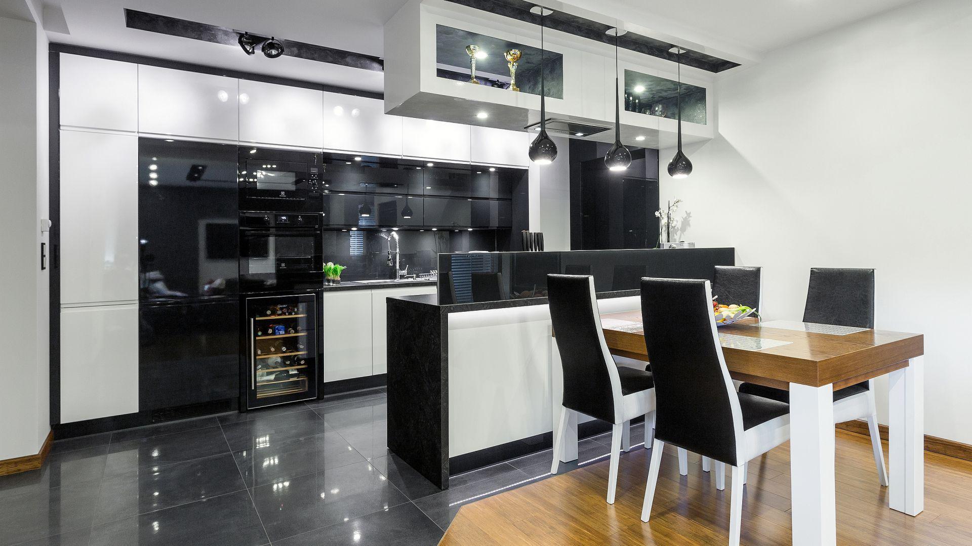 Kuchnia Otwarta Piękny Projekt Wnętrza