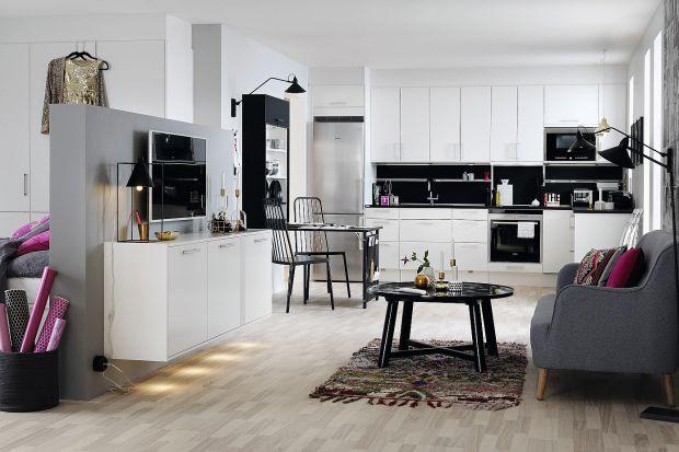 Kuchnia otwarta na salon - pomysły na urządzenie