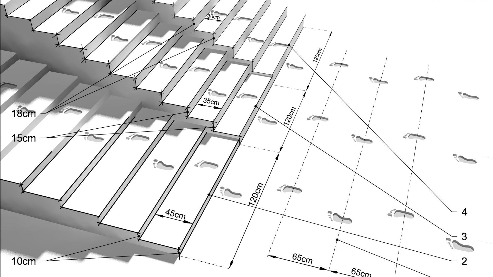 Mała architektura ogrodowa - projektujemy schody. Fot. Buszrem