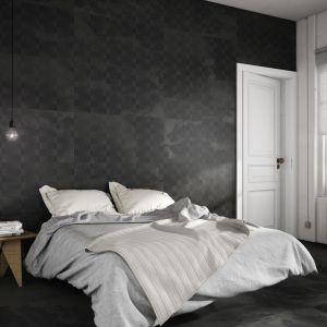 Płytki w sypialni, kolekcja Nanoarea Habitacion. Fot. Apavisa