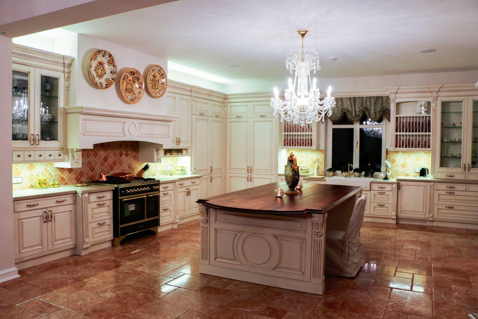 Luksus w kuchni. Fot. Technistone