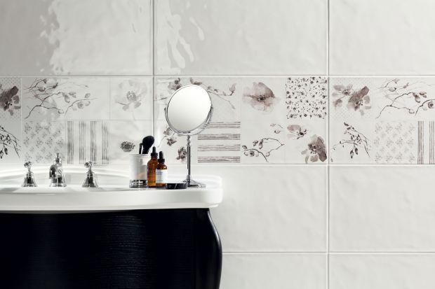 Płytki ścienne do łazienki - nowa kolekcja z ornamentami