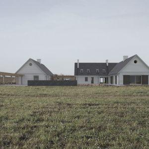Dom w Zatoni Dolnej. Projekt: Tomasz Sachanowicz, Szymon Bielenis