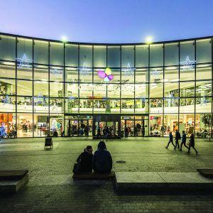 Galeria Siedlce. Projekt: Bulak Projekt, projekt wykonawczy S.LAB architektura Tomasz Sachanowicz