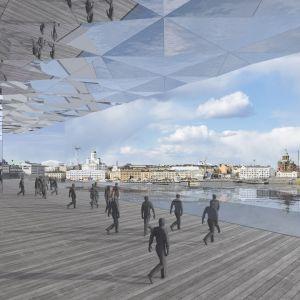 Muzeum Guggenheim Helsinki - projekt na międzynarodowy konkurs. Projekt: S.LAB architektura Tomasz Sachanowicz + Projektor Architekci / Szymon Bielenis, Joanna Borek