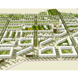 Osiedle Giżynek w Stargardzie, wyróżnienie w konkursie ogólnopolskim. Projekt: S.LAB architektura / Tomasz Sachanowicz + Bielenis Architektura