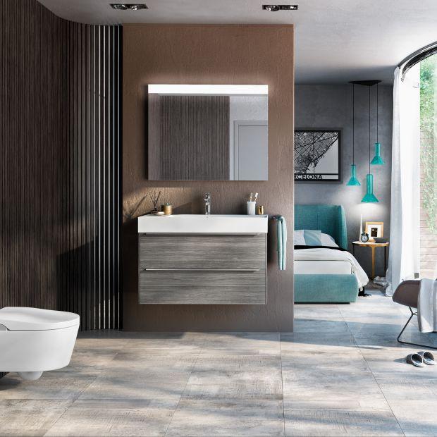 3 pomysły na łazienkę w brązach