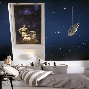 Kolekcja rolet Disney & Velux Dobranoc. Fot. Velux