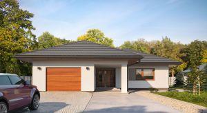 Nika 4 to projekt parterowego domu odpowiadający optymalnym potrzebom 4-osobowej rodziny. Dzięki ustawnej i ergonomicznie rozplanowanej przestrzeni, z wyraźnym podziałem na strefy, jest wygodny i funkcjonalny.