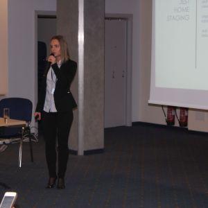 Prezentacja eksperta Ewy Linert Studio Dobrych Rozwiązań. Fot. Wojciech Napora