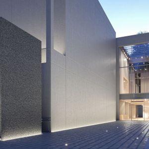 Nowoczesne tynki dekoracyjne dają dużą swobodę zastosowań przy projektowaniu i wykańczaniu powierzchni zewnętrznych. Fot. Atlas