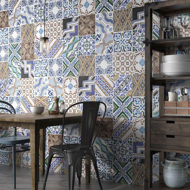 Płytki ceramiczne do kuchni: 20 pięknych kolekcji