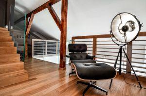 Oryginalny apartament na wielu poziomach - część prywatna. Projekt i zdjęcia: Aleksandra Pałczak-Czajkowska