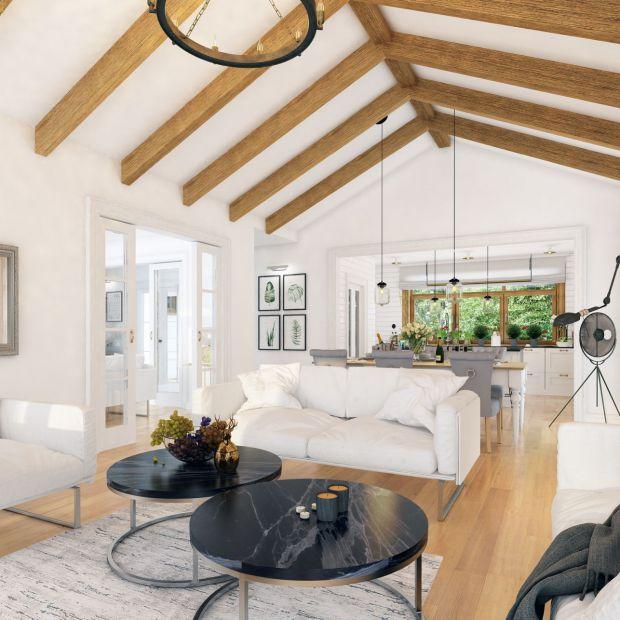 Piękny, nowoczesny dom: zobacz projekt i wnętrza