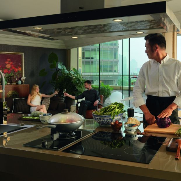 Nowoczesna kuchnia - otwarta i przyjazna