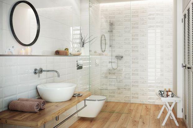 Mała łazienka - zobacz materiały na ściany i podłogi