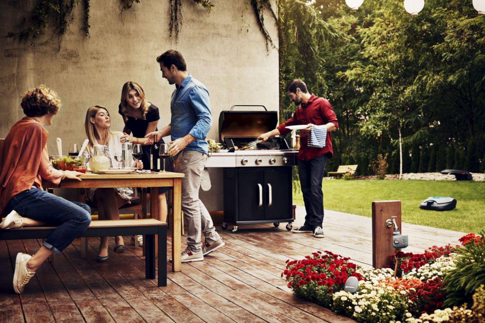 Gardena smart system zadba o Twój ogród. Fot. Gardena