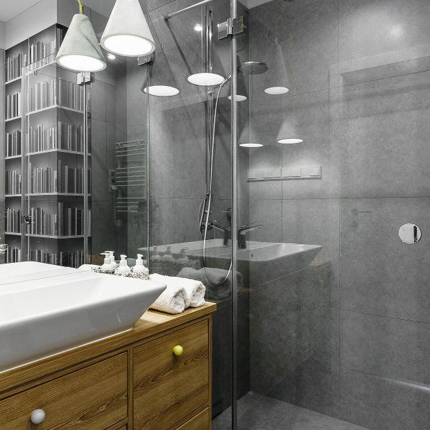 Łazienka przy sypialni – piękny projekt wnętrza