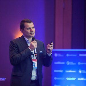 Marek Przybył na V Forum Branży Łazienkowej. Fot. Marek Misiurewicz
