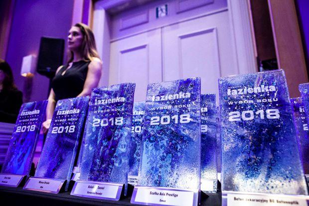 Zwieńczeniem Forum Branży Łazienkowej była uroczysta gala rozdania nagród w konkursie Łazienka - Wybór Roku 2018.